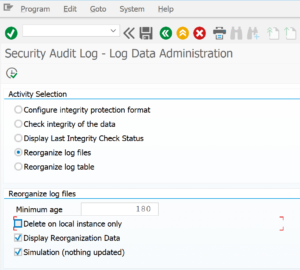 Delete audit logging