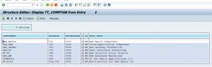 Installed components via OCS_GET_INSTALLED_COMPS