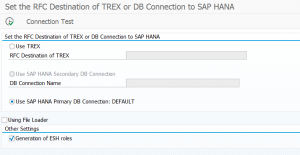 SAP TREX and HANA embedded search technical tips and tricks