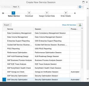 New security optimization service