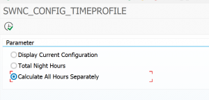 Program SWNC_CONFIG_TIME_PROFILE