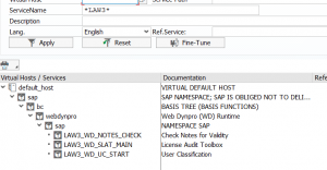 USMM2 SICF nodes