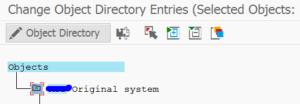 Change object directories objects list