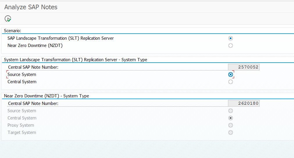 DMIS notes analyzer program start screen