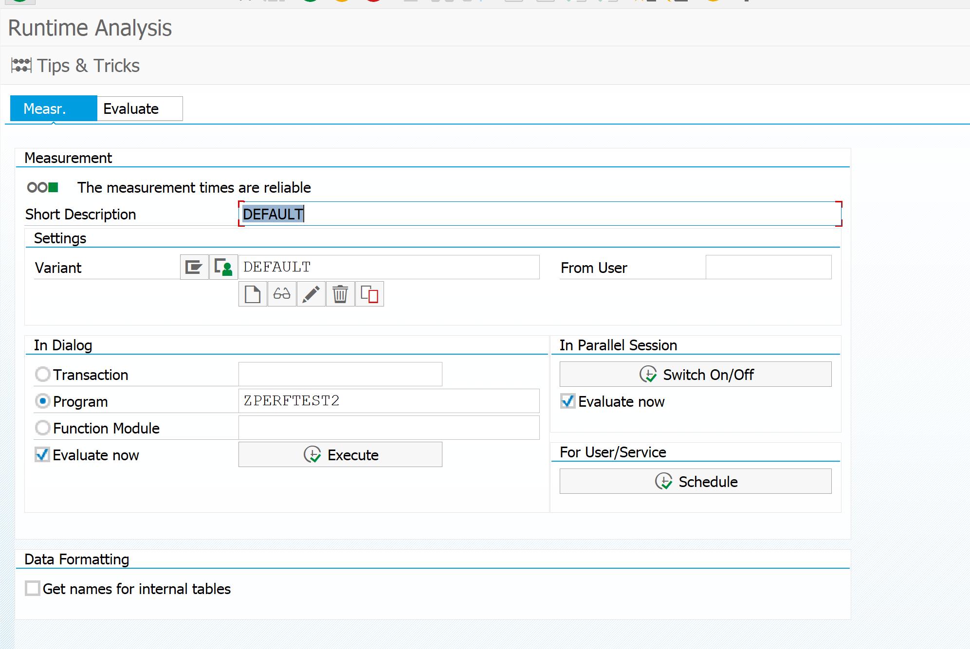 SAT ABAP runtime analysis - Saptechnicalguru com